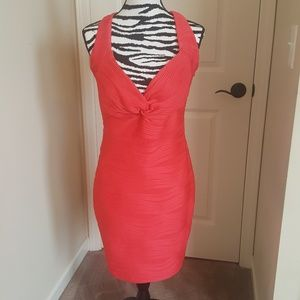 Guess Coral Cocktail Dress